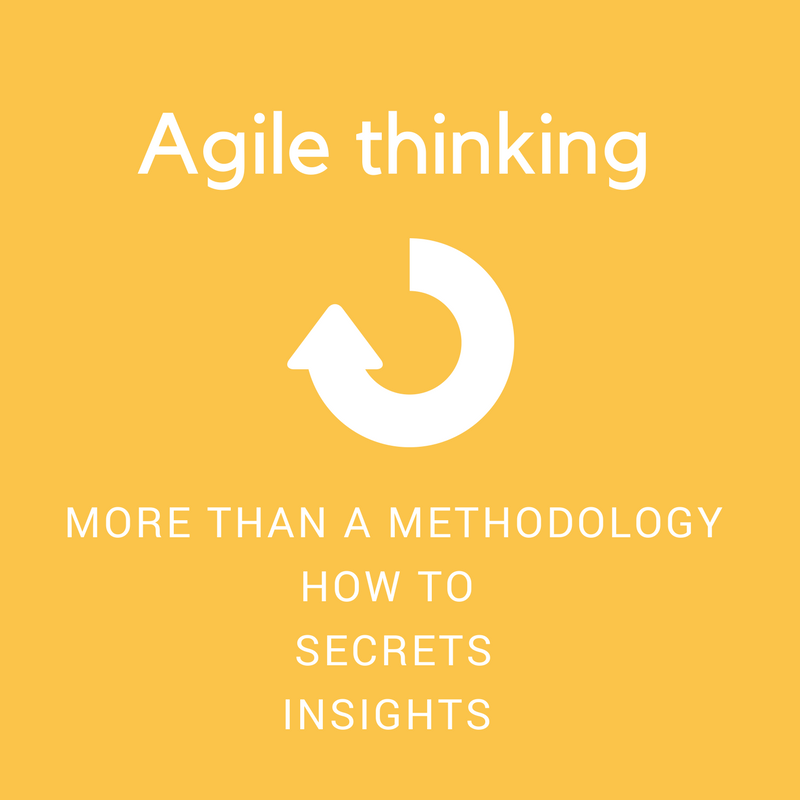 Agile thinking more than methodology and process